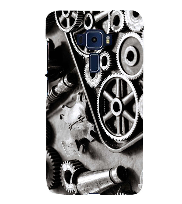Machinery Back Cover for Asus Zenfone 3 Deluxe ZS570KL