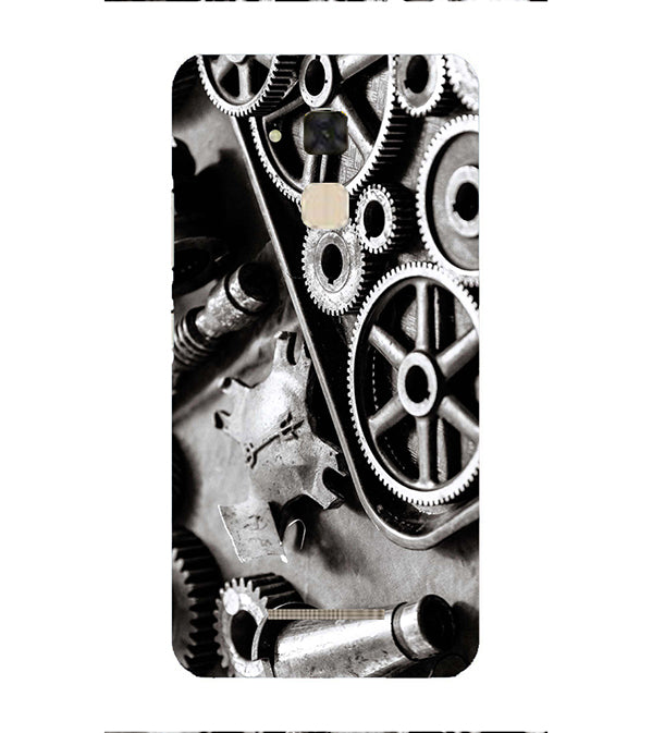 Machinery Back Cover for Asus Zenfone 3 Max ZC520TL
