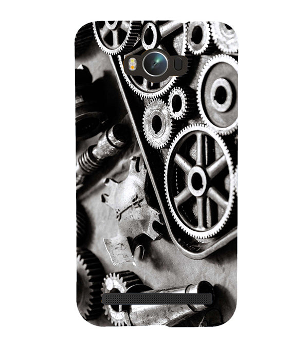 Machinery Back Cover for Asus Zenfone Max ZC550KL