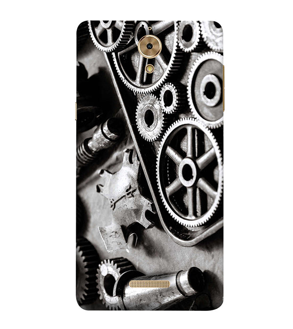 Machinery Back Cover for Coolpad Mega 2.5D