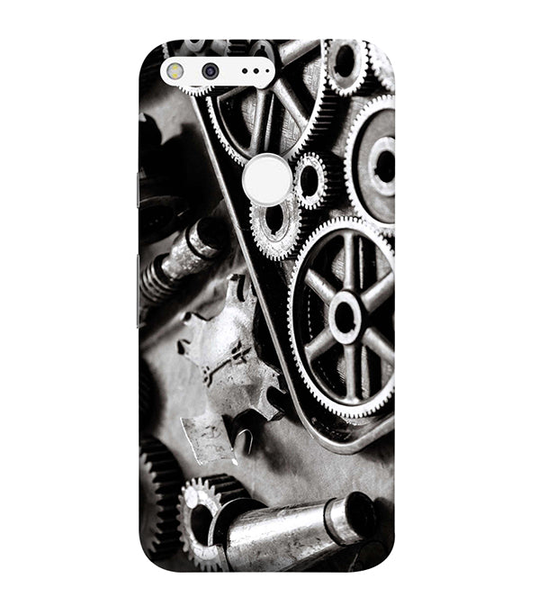 Machinery Back Cover for Google Pixel