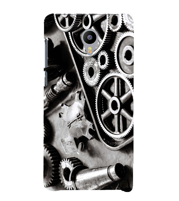 Machinery Back Cover for Meizu M3 Note
