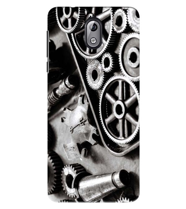 Machinery Back Cover for Nokia 3.1 (2018)