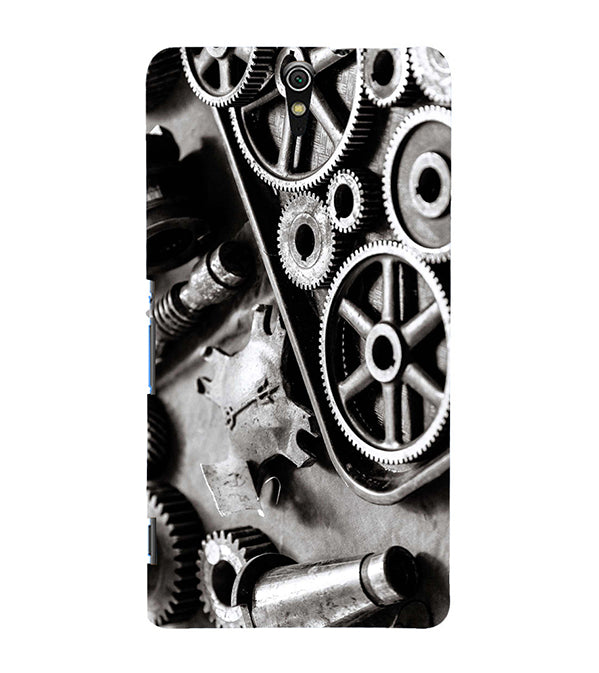 Machinery Back Cover for Sony Xperia C5