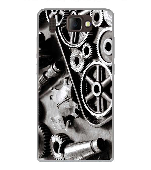 Machinery Back Cover for Panasonic P66 Mega