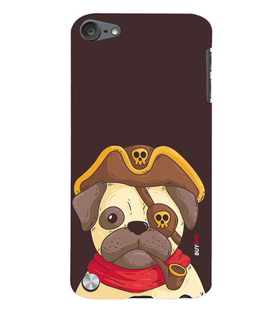 Mafia Pug Back Cover for Apple iPod Touch 5