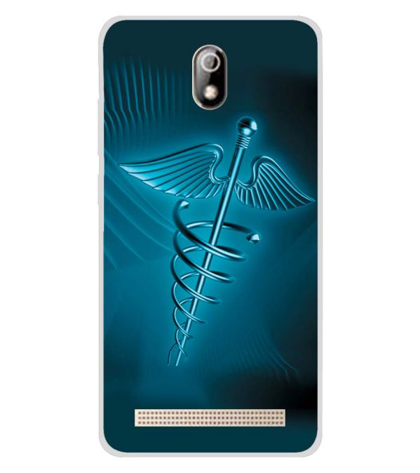 Medical Care Soft Silicone Back Cover for Comio C1 Pro