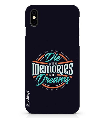 Memories and Dreams Back Cover for Apple iPhone X