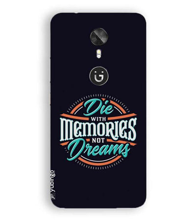 Memories and Dreams Back Cover for Gionee A1