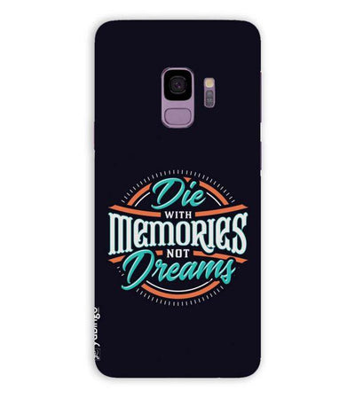 Memories and Dreams Back Cover for Samsung Galaxy S9