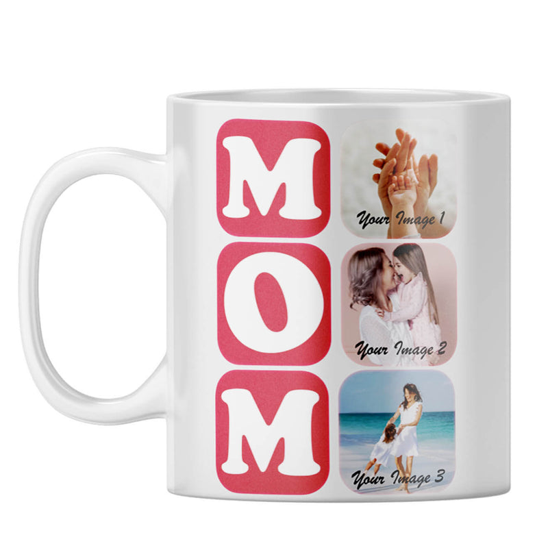 MOM Collage Coffee Mug