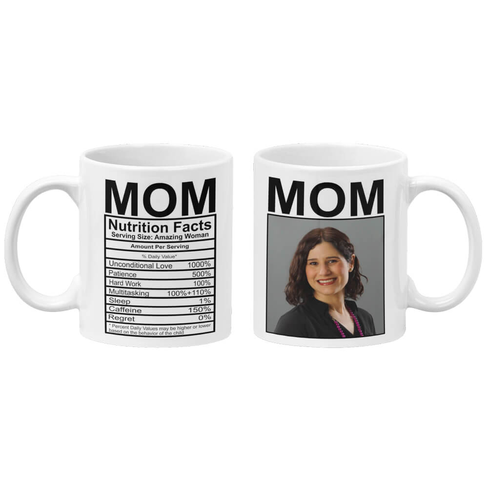 Mom Nutritional Fact Coffee Mug