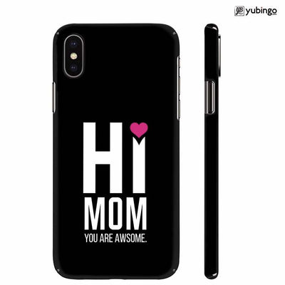 Mom You Are Awesome Back Cover for Apple iPhone X