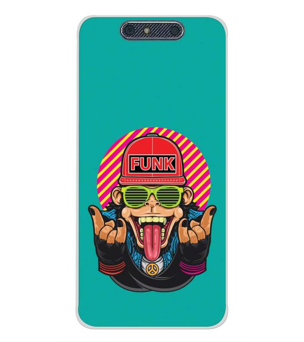 Monkey Funk Back Cover for Micromax Dual 4 E4816-Image3