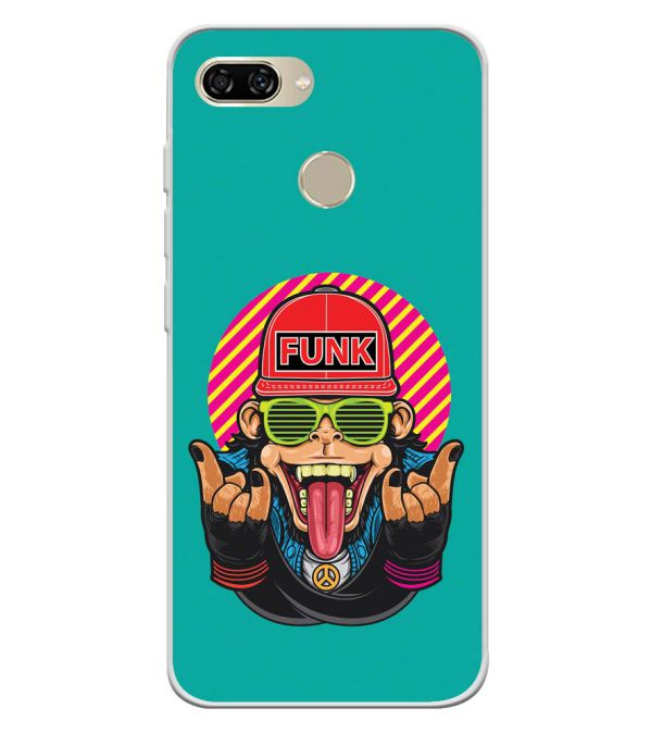 Monkey Funk Soft Silicone Back Cover for Gionee S11 lite