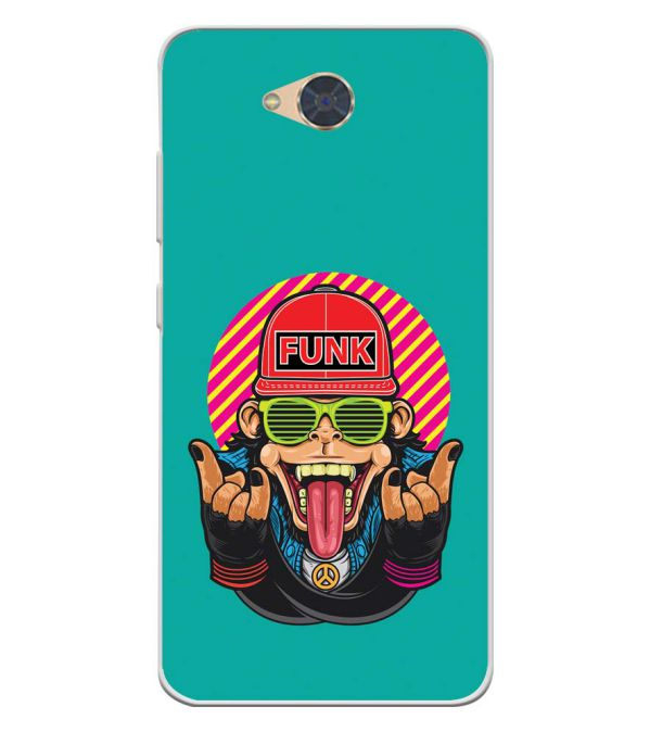 Monkey Funk Soft Silicone Back Cover for Gionee S6Pro