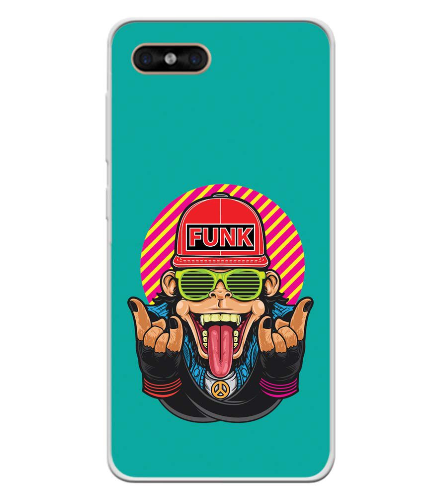 Monkey Funk Soft Silicone Back Cover for Gome C7