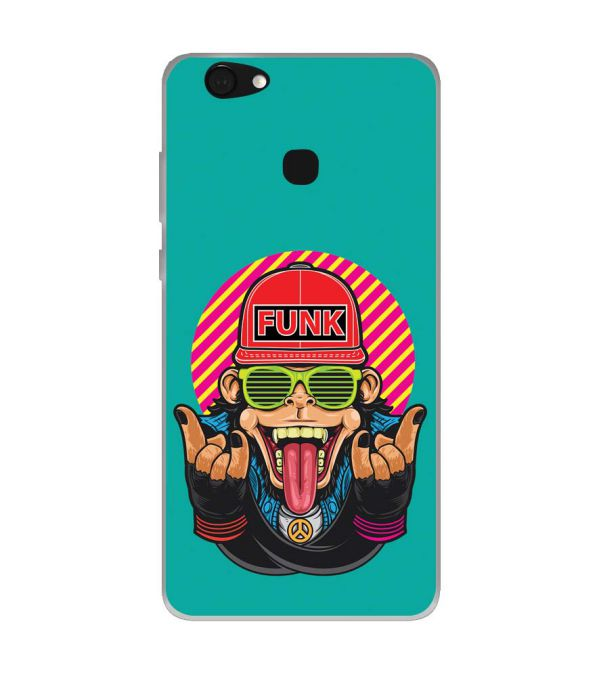 Monkey Funk Soft Silicone Back Cover for Kult Gladiator