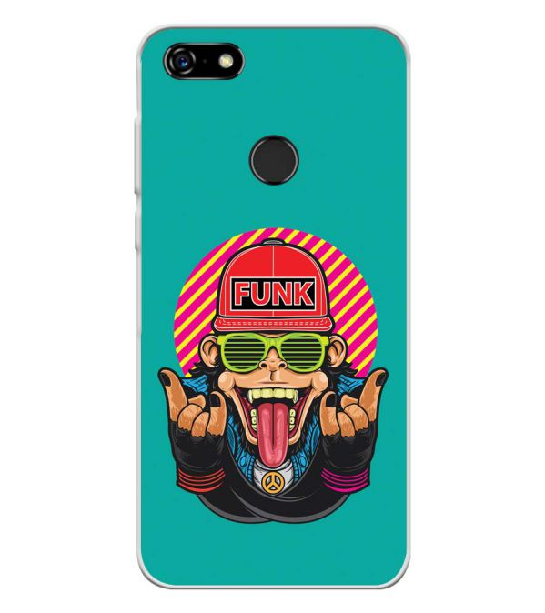 Monkey Funk Soft Silicone Back Cover for Lenovo A5