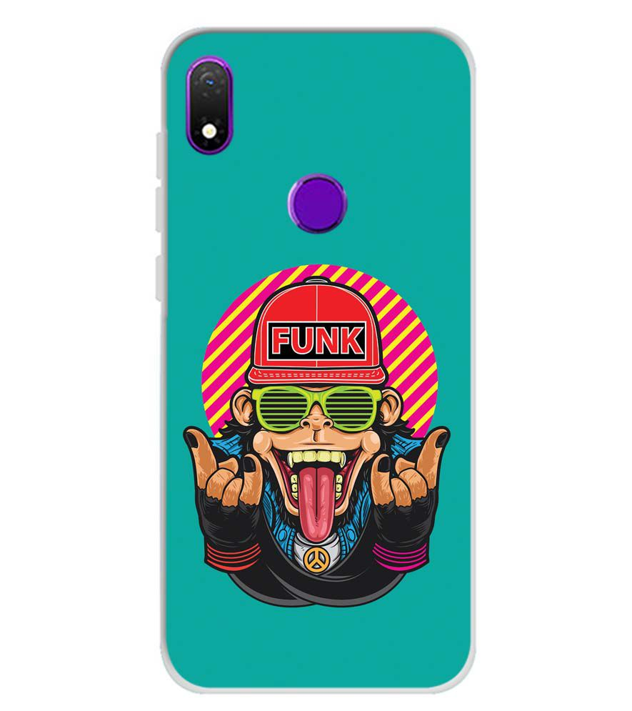 Monkey Funk Soft Silicone Back Cover for Mobiistar X1 Notch