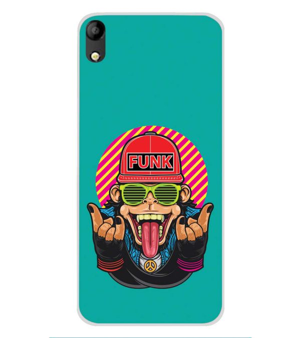 Monkey Funk Soft Silicone Back Cover for Mobistar C1