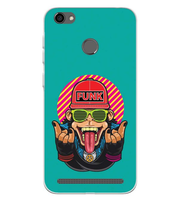 Monkey Funk Soft Silicone Back Cover for Panasonic P85 NXT