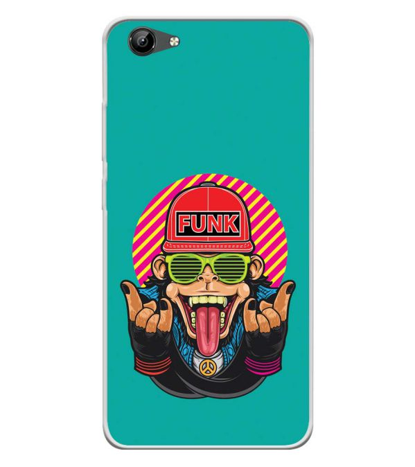 Monkey Funk Soft Silicone Back Cover for Vivo Y71i