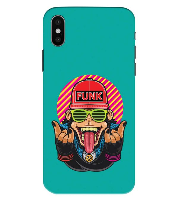 Monkey Funk Back Cover for Apple iPhone XS Max (Big 6.5 Inch Screen)