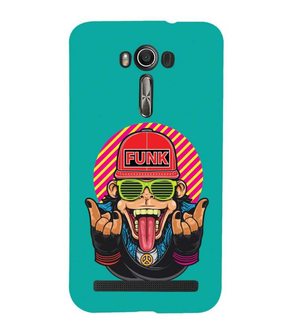 Monkey Funk Back Cover for Asus Zenfone 2 Laser ZE550KL