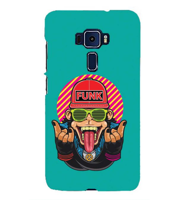 Monkey Funk Back Cover for Asus Zenfone 3 ZE552KL