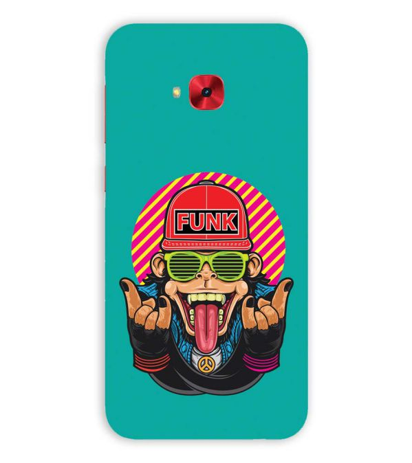 Monkey Funk Back Cover for Asus Zenfone 4 Selfie Pro ZD552KL
