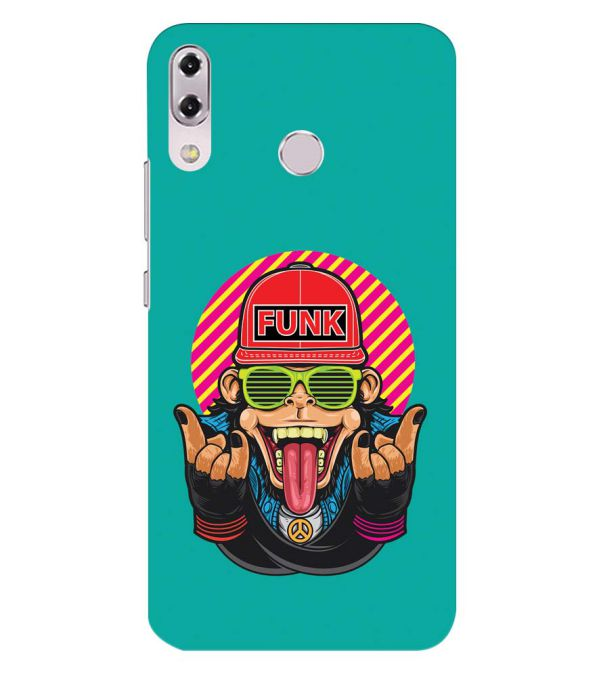Monkey Funk Back Cover for Asus Zenfone 5z ZS620KL
