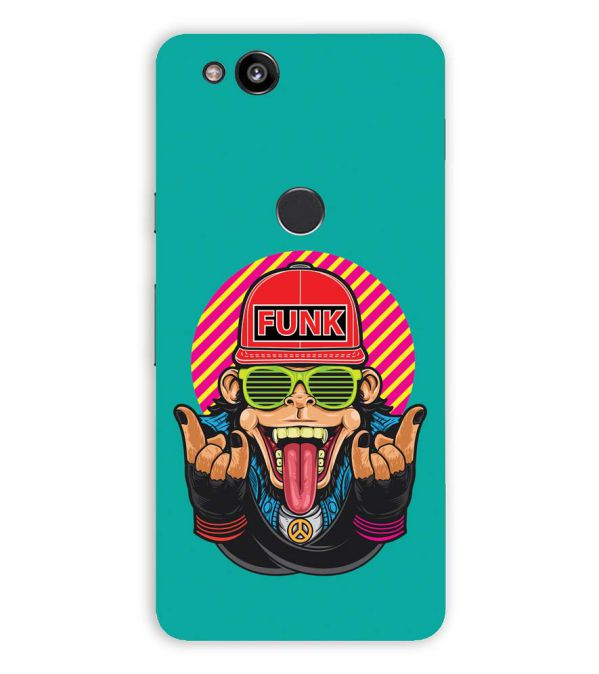 Monkey Funk Back Cover for Google Pixel 2 XL (6 Inch Screen)