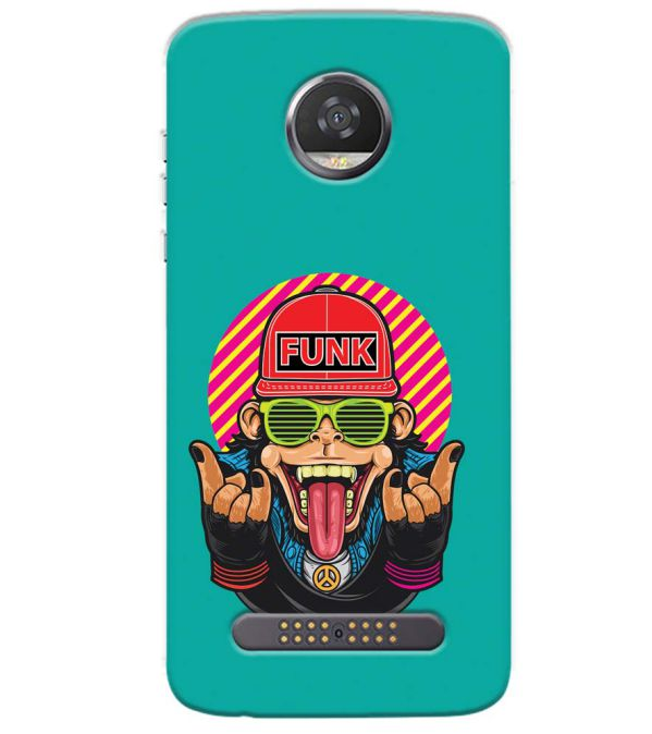 Monkey Funk Back Cover for Motorola Moto Z3 Play