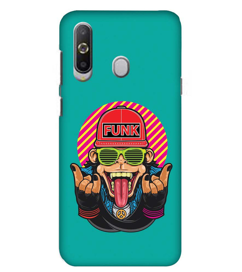 Monkey Funk Back Cover for Samsung Galaxy A8s