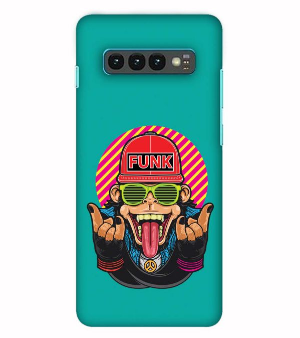 Monkey Funk Back Cover for Samsung Galaxy S10 (6.1 Inch Screen)