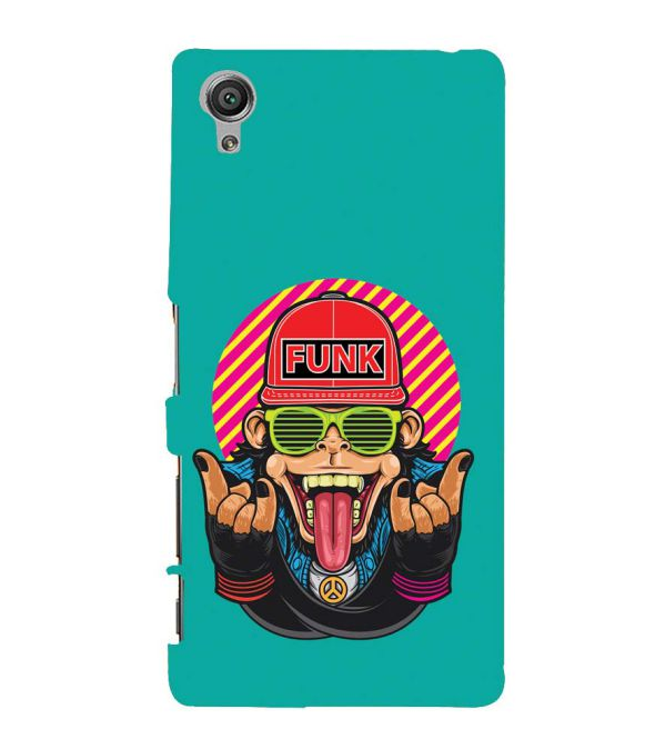 Monkey Funk Back Cover for Sony Xperia X