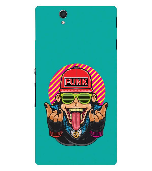 Monkey Funk Back Cover for Sony Xperia Z