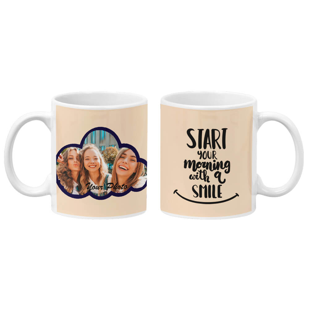 Morning With Smile Coffee Mug