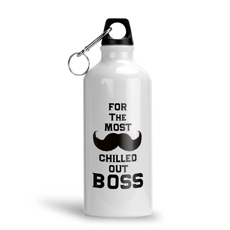 Most Chilled Out Boss Water Bottle