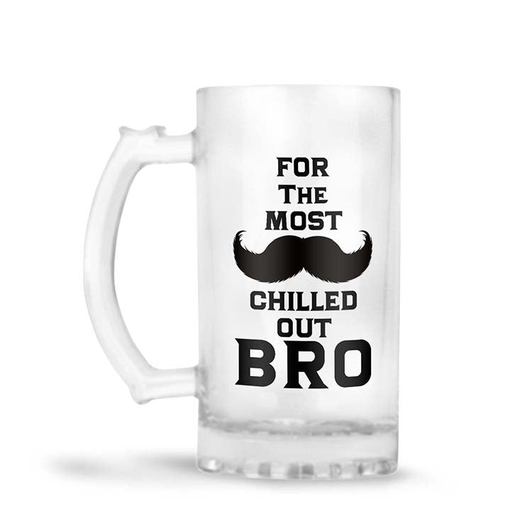 Most Chilled Out BRO Beer Mug