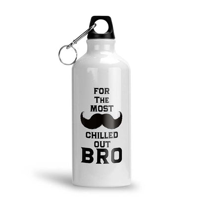 Most Chilled Out BRO Water Bottle