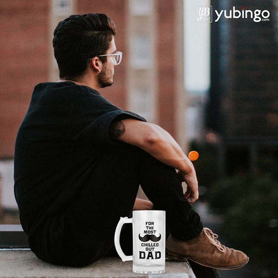 Most Chilled Out Dad Beer Mug-Image3