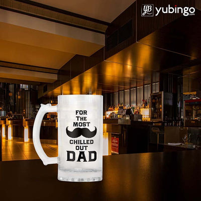 Most Chilled Out Dad Beer Mug-Image4