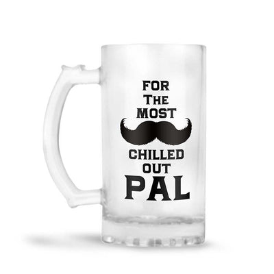 Most Chilled Out Pal Beer Mug