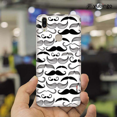 Moustaches Back Cover for Vivo X21-Image2