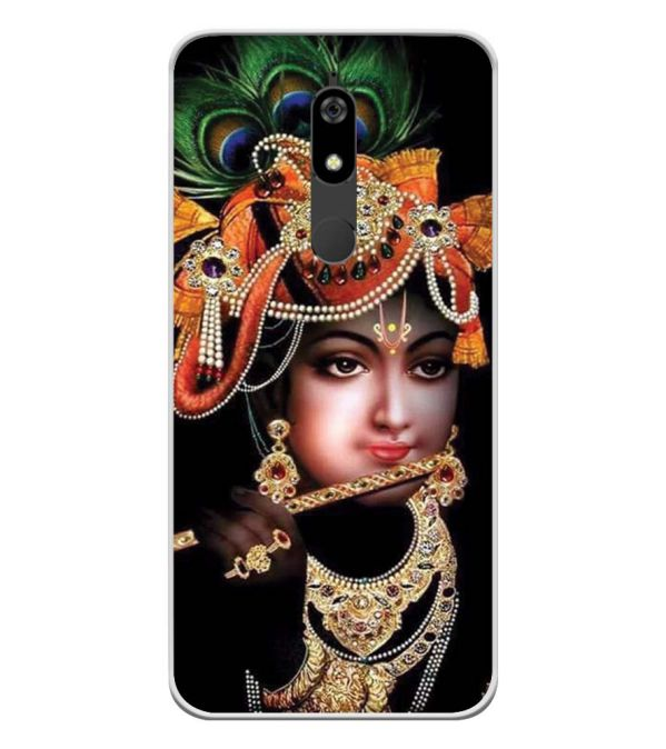Murli Wala Soft Silicone Back Cover for Micromax Canvas Infinity Pro