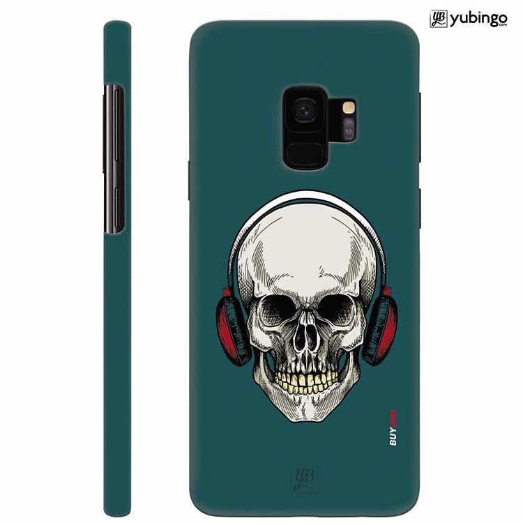 Skull Collection Back Cover for Samsung Galaxy S9