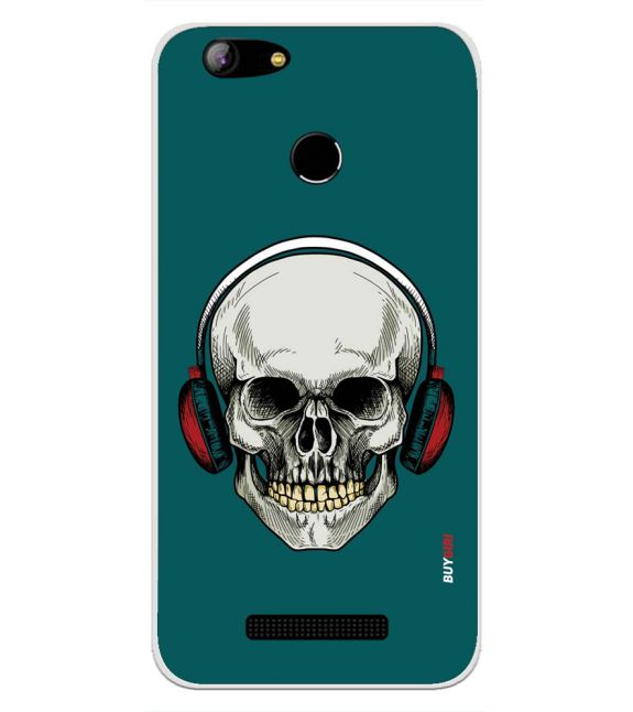 Skull Collection Back Cover for Intex Aqua Lions X1