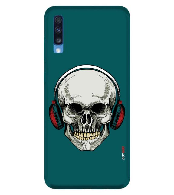 Music Deep Inside Back Cover for Samsung Galaxy A70